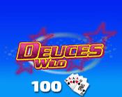 Deuces Wild 100 Hand